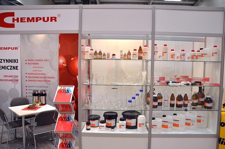 Firma Chempur na targach EuroLab