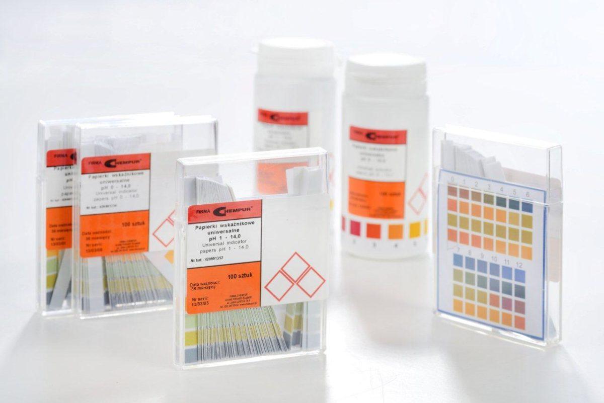 Zmiana cen miedzi siarczanu oraz fioletu metylowego